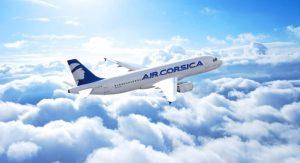 Vol Air Corsica entre la Corse et le continent