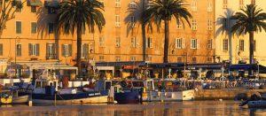 Ajaccio Vieux port soleil