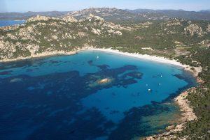 Location catamaran en Corse - Plage de Roccapina