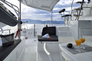 Location catamaran en Corse - lagoon-42