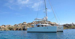Location catamaran Corse - Lagoon 450 f