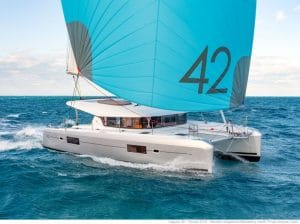 Location catamaran Corse Lagoon 42