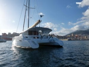 Location catamaran Corse Lipari 41 Fountaine Pajot Lion Fish