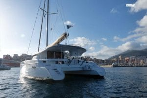 Location catamaran Corse Lipari 41 Fountaine Pajot Lion Fish